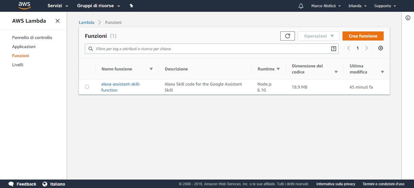 Come attivare Google Assistant su Alexa 10