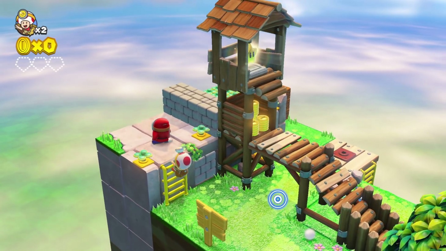 Disponibile ora Captain Toad: Treasure Tracker Special Episode 1