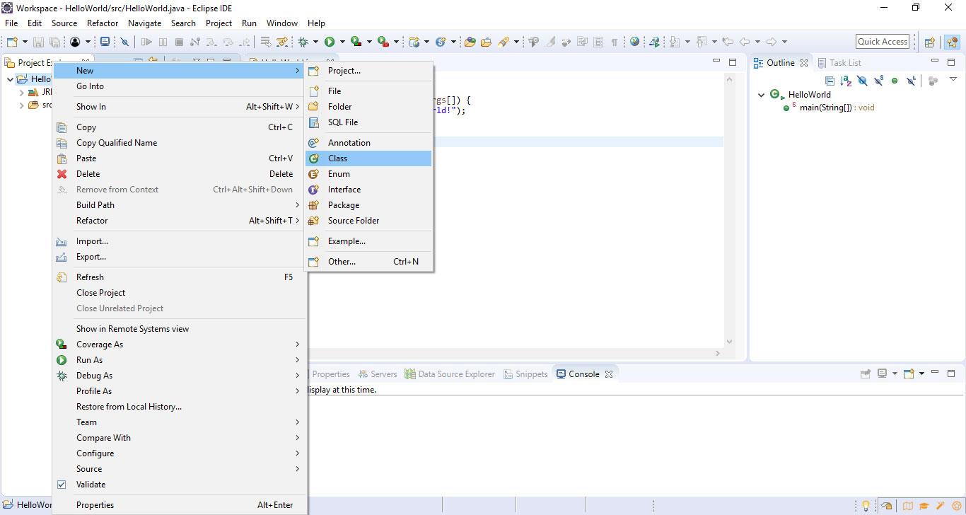 Corso Java #1: introduzione e configurazione di Eclipse 2