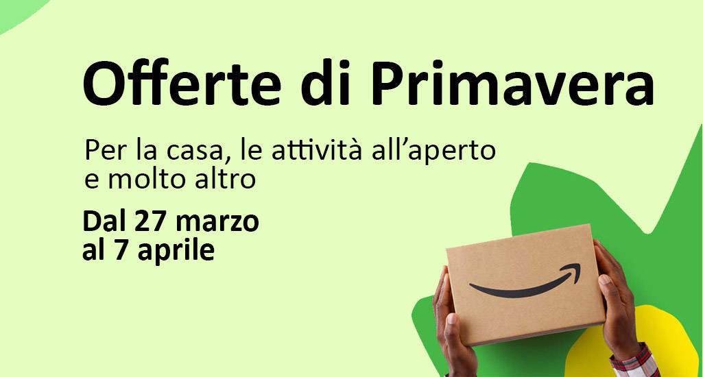 Offerte Primavera Amazon
