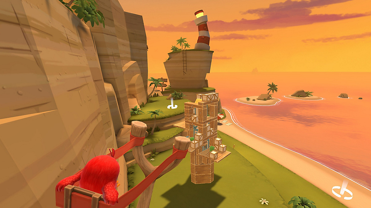 Disponibile Angry Birds VR: Isle of Pigs 2