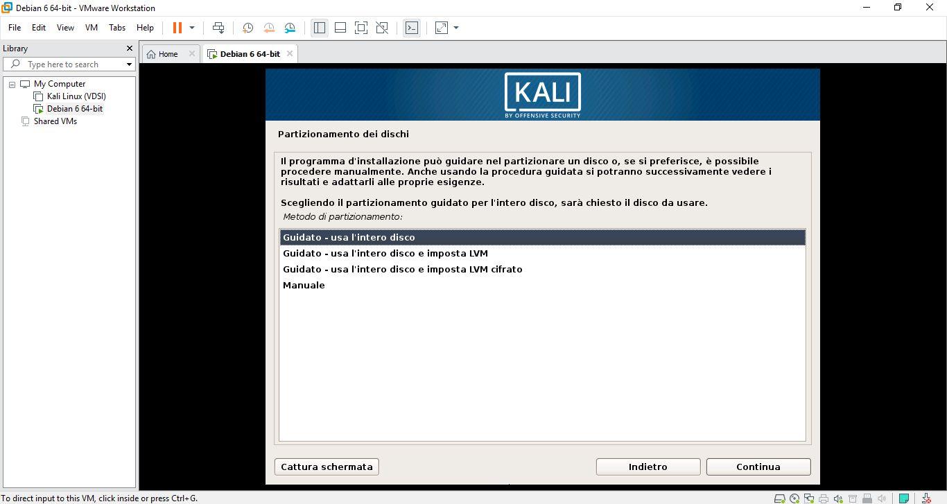 Come installare Kali Linux su macchina virtuale 5