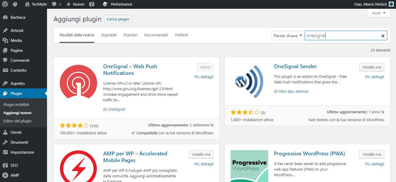 OneSignal WordPress Plugin