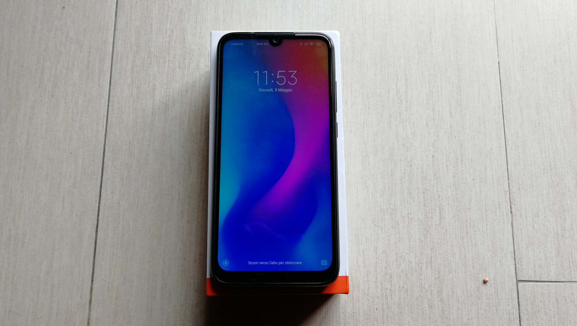 Redmi note 7 Display acceso