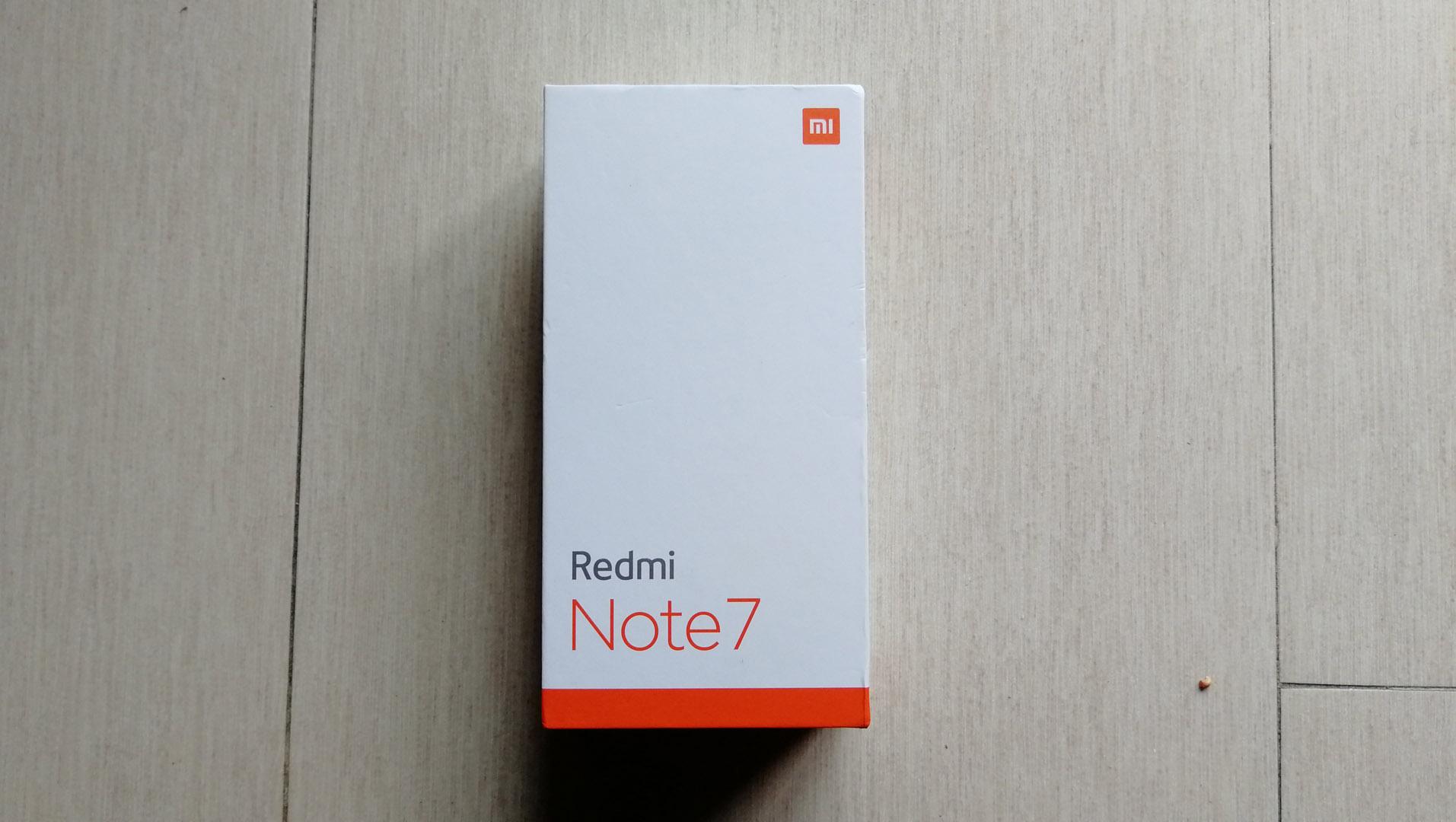 Redmi note 7 Confezione