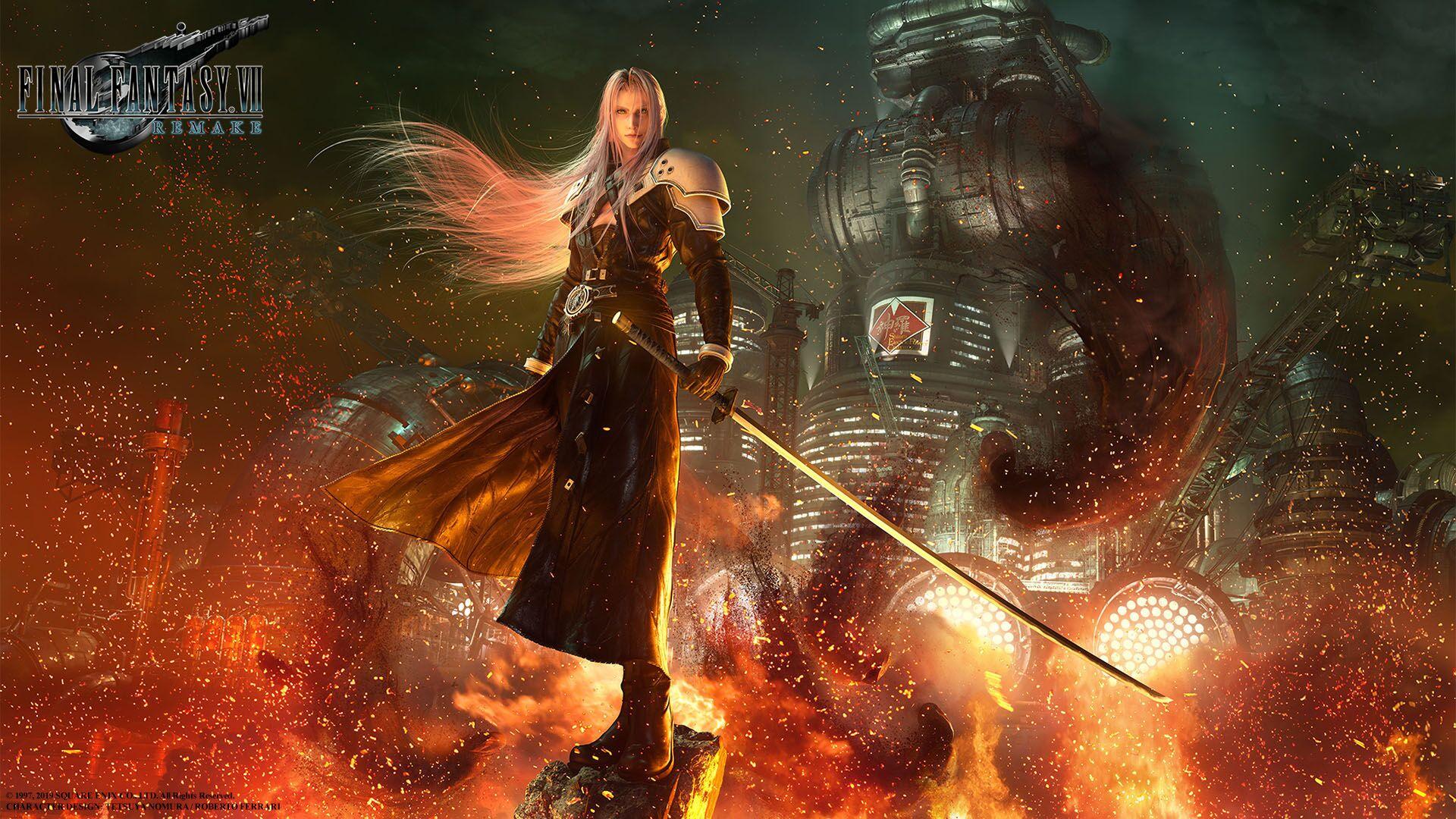 FInal Fantasy VII Remake Sephirot