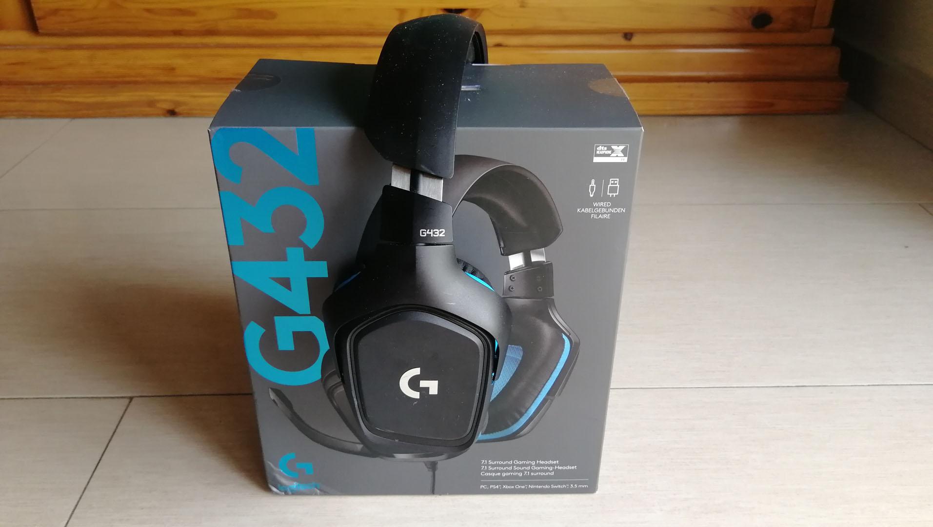 Recensione Logitech G432, headset con Dolby Surround 7.1 2