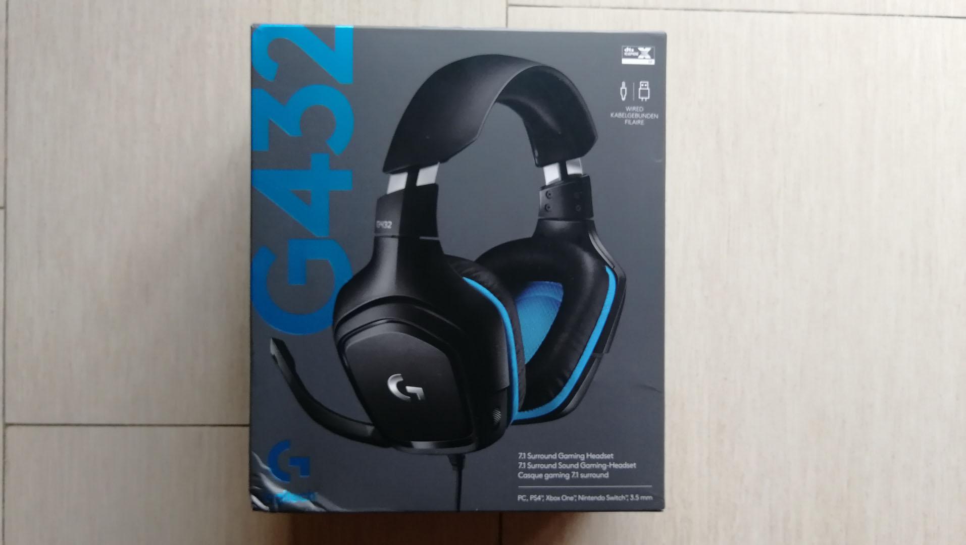 Recensione Logitech G432, headset con Dolby Surround 7.1 1