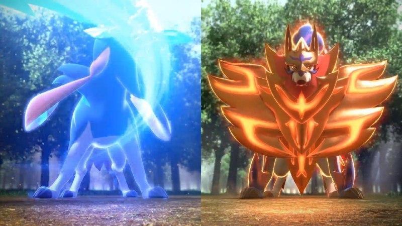 Pokémon Spada e Scudo leggendari