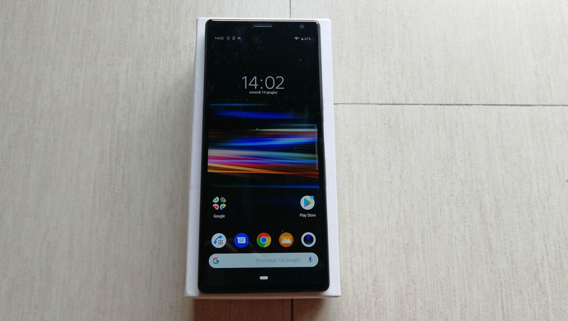Sony Xperia 10 Plus fronte
