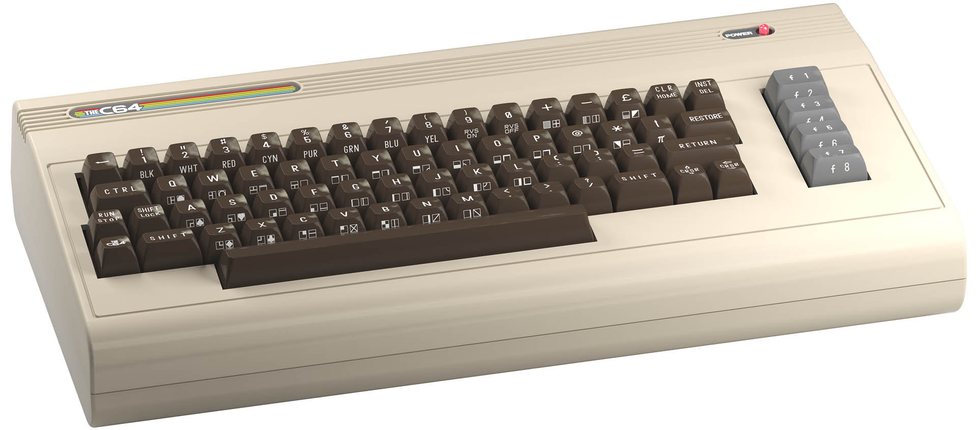 The C64: torna il Commodore 64 a grandezza naturale 1