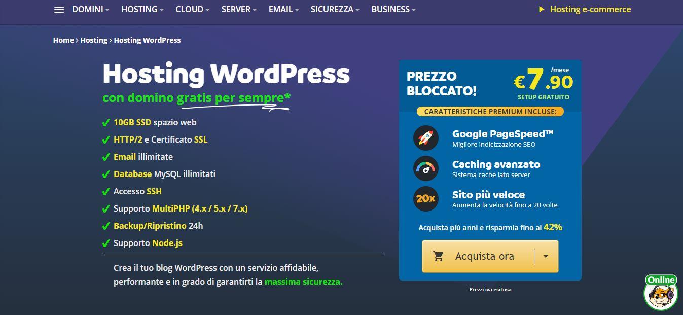 Keliweb hosting WordPress