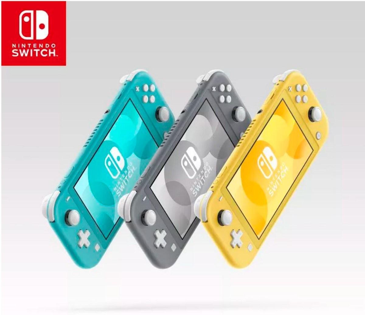 Nintendo Switch Lite Design