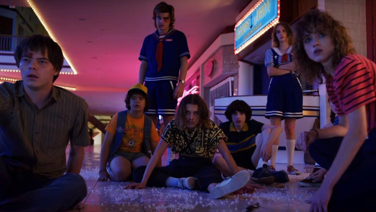 Stranger Things 3: gruppo