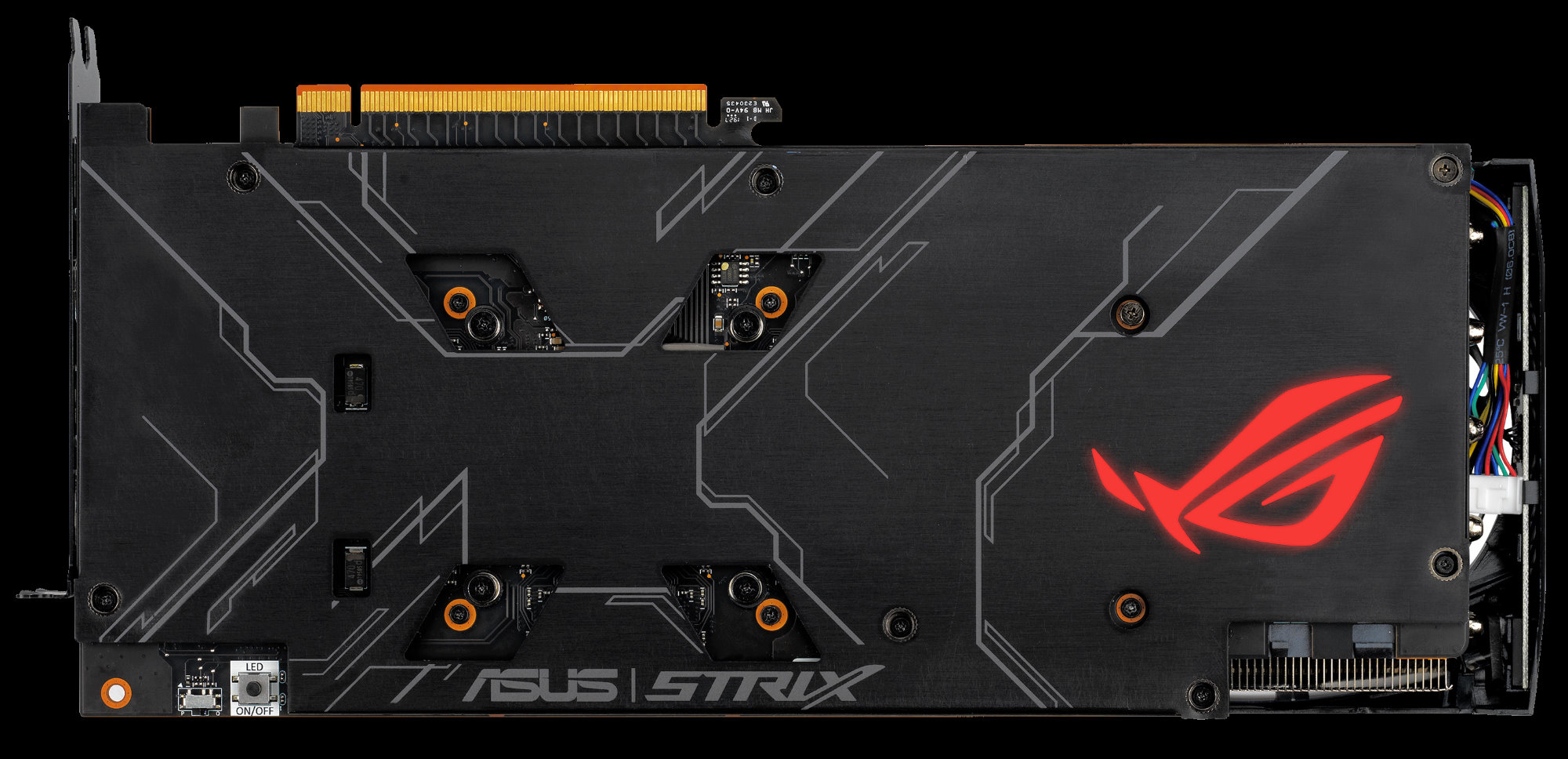 Asus ROG Strix RX 5700 backplate