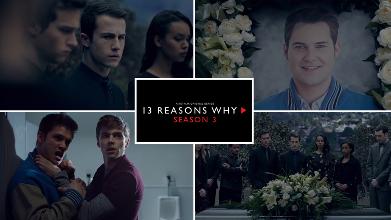 """13 Reasons Why S03: """"Chi ha ucciso Bryce Walker?"""" 1"""