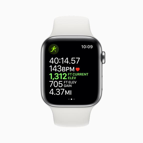 Apple Watch Serie 5 design