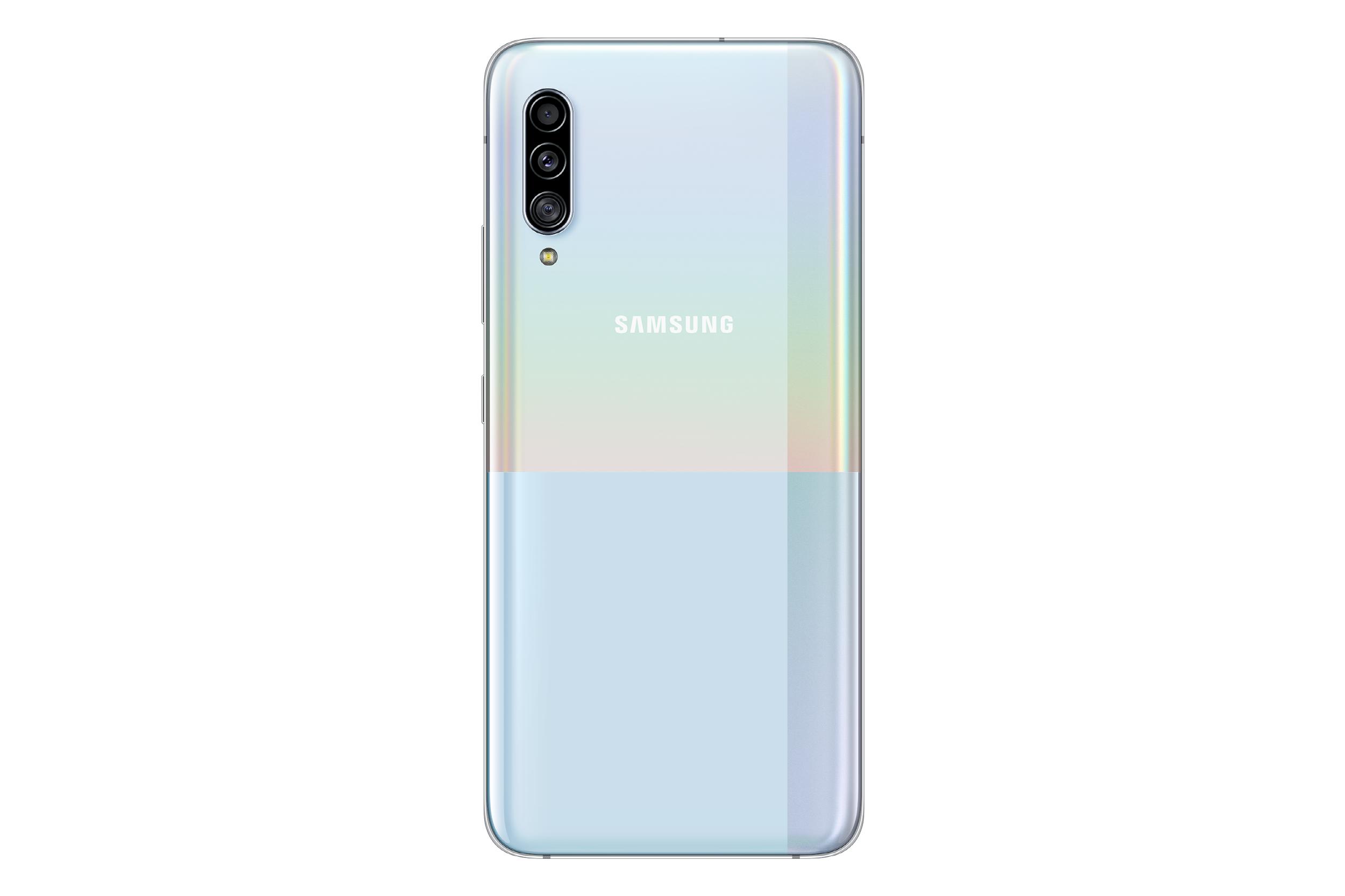 Samsung Galaxy A90 5G Bianco Retro