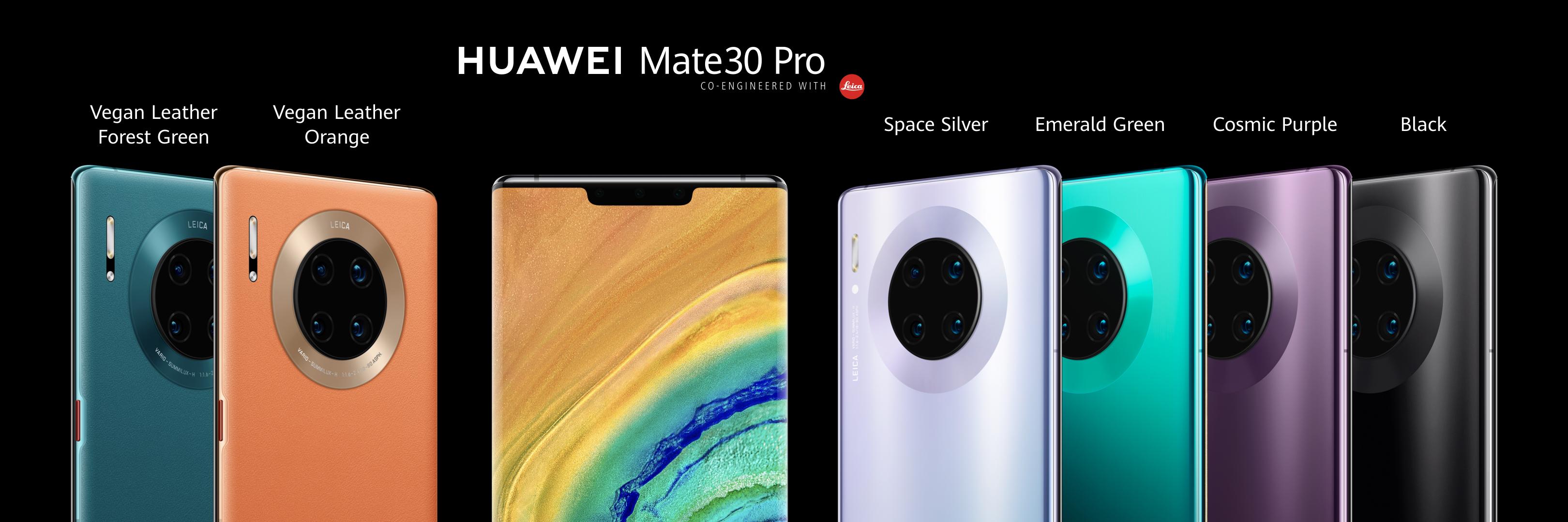 Huawei Mate30 e Mate30 Pro ufficiali: nuovo design e fotocamera al top 1