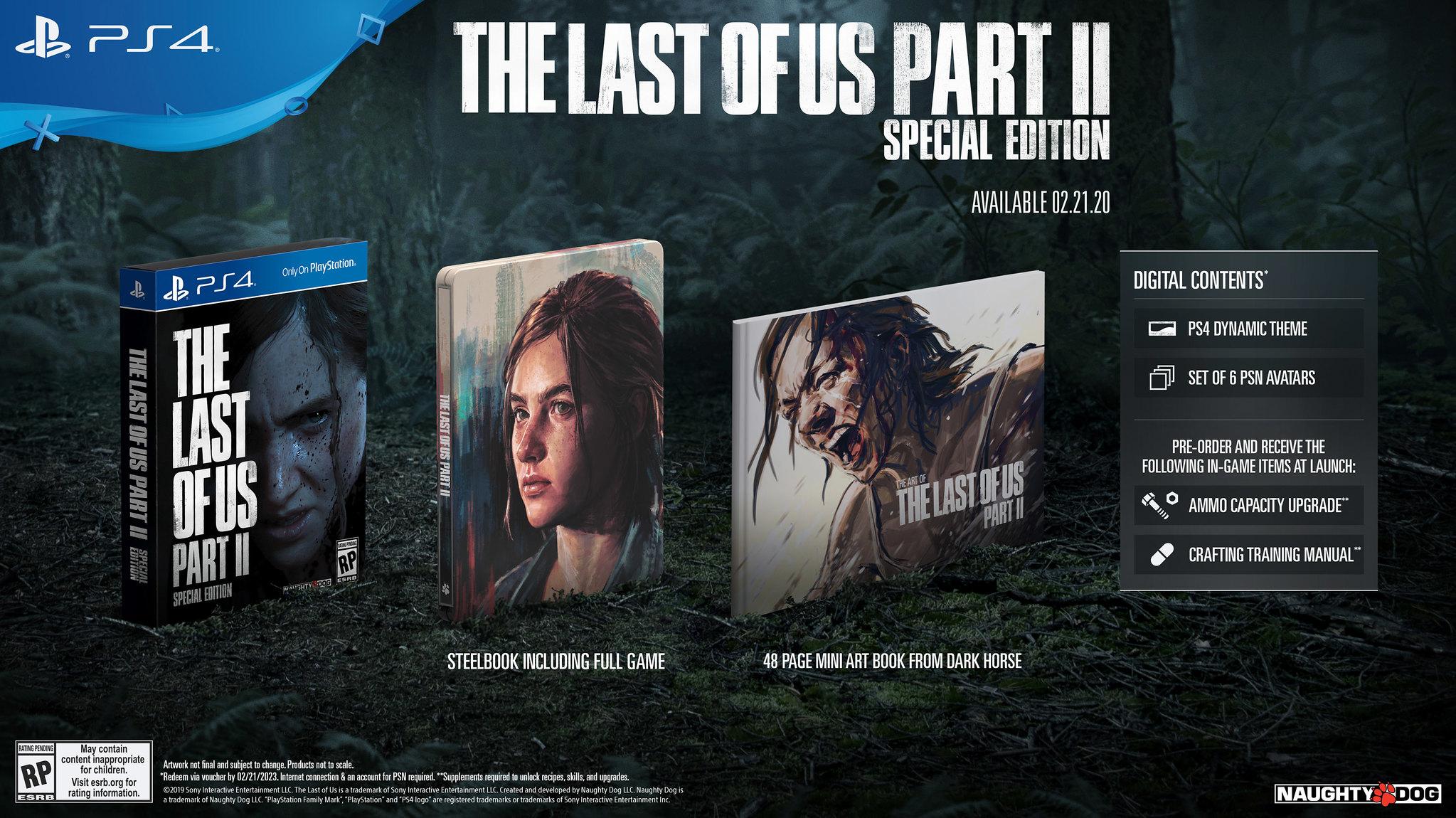 The Last of Us Part II: annunciate le edizioni speciali 2