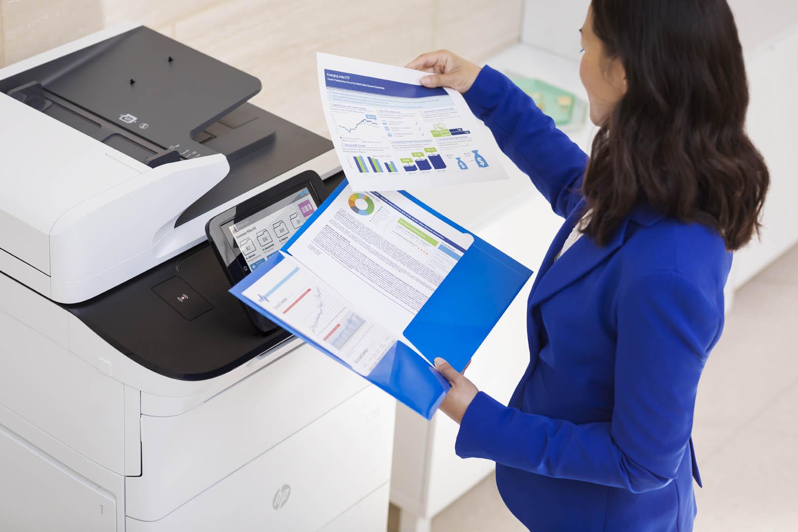 HP presenta le stampanti professionali Color LaserJet Enterprise MFP M776 e M856 2