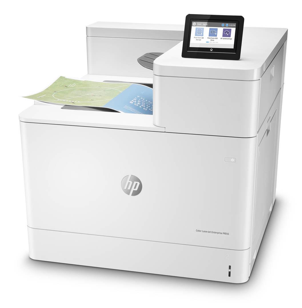HP presenta le stampanti professionali Color LaserJet Enterprise MFP M776 e M856 4