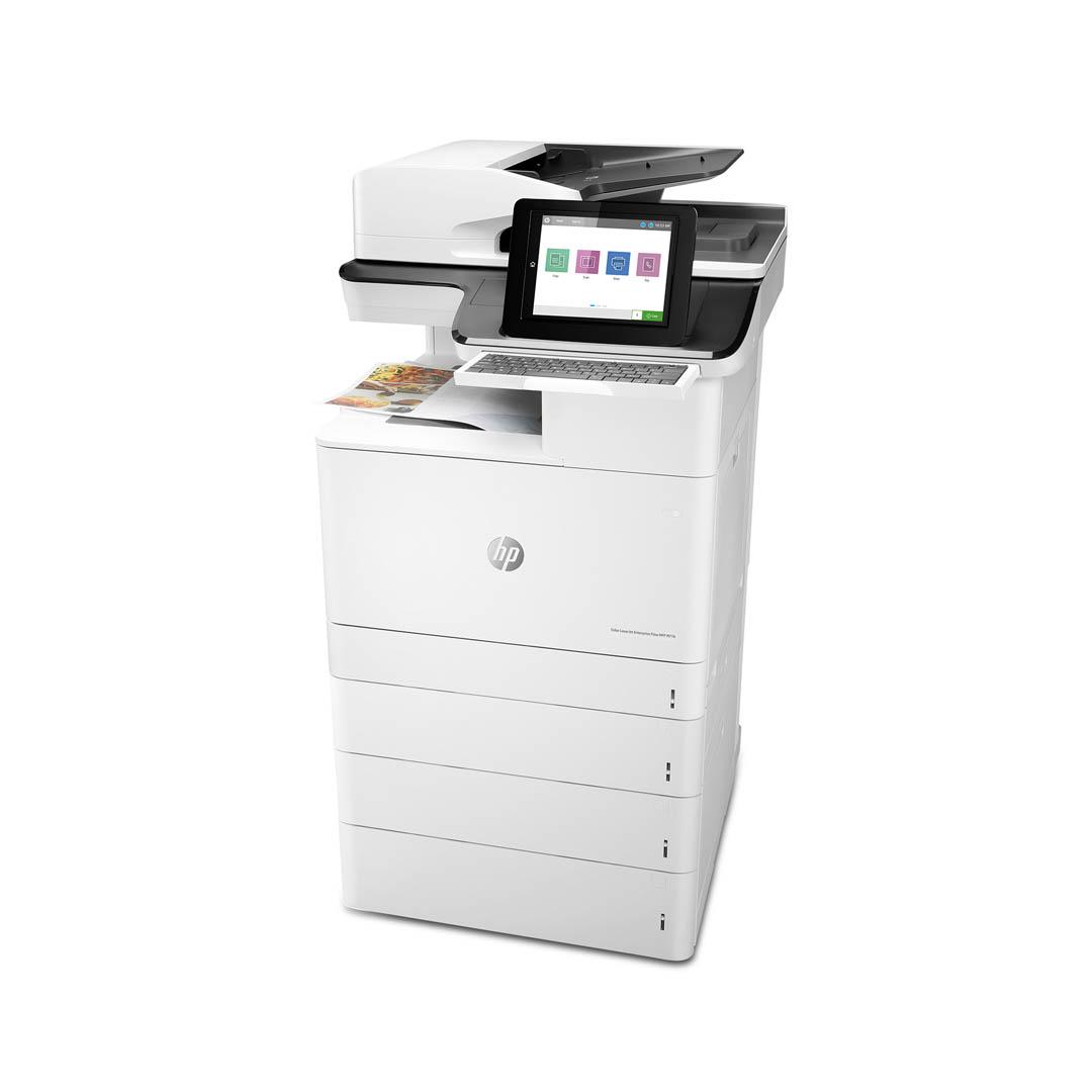 HP presenta le stampanti professionali Color LaserJet Enterprise MFP M776 e M856 3