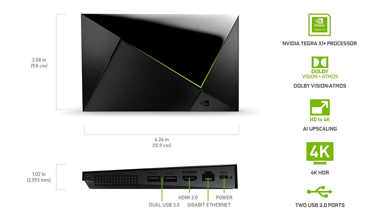 NVIDIA SHIELD TV Pro: caratteristiche