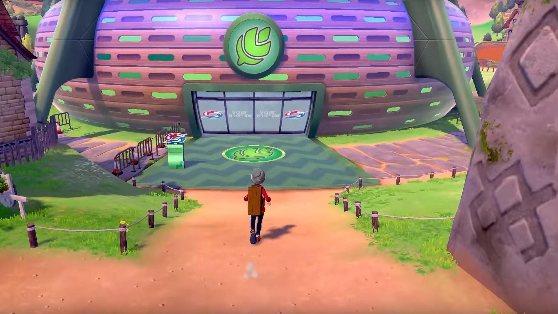 Pokémon Spada e Scudo Stadio Pokémon