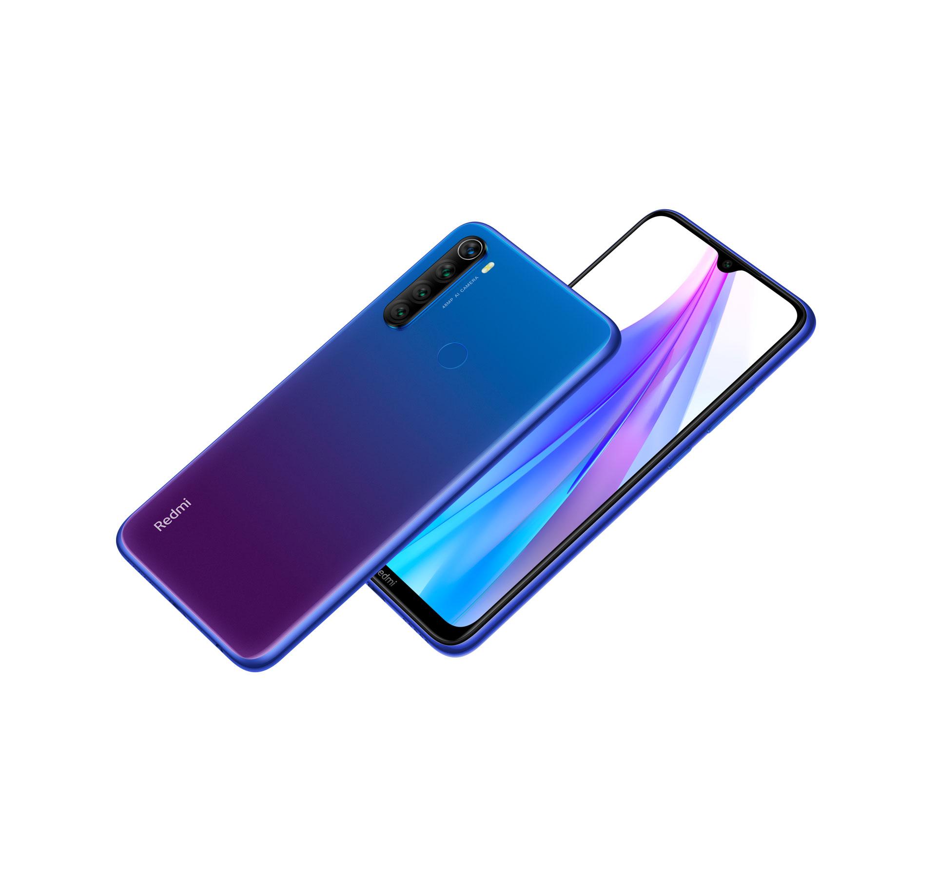 Redmi Note 8T blu