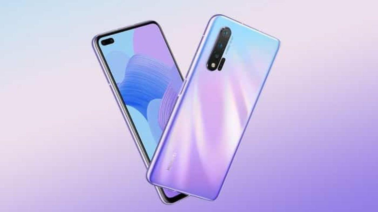 Huawei Nova 6 design