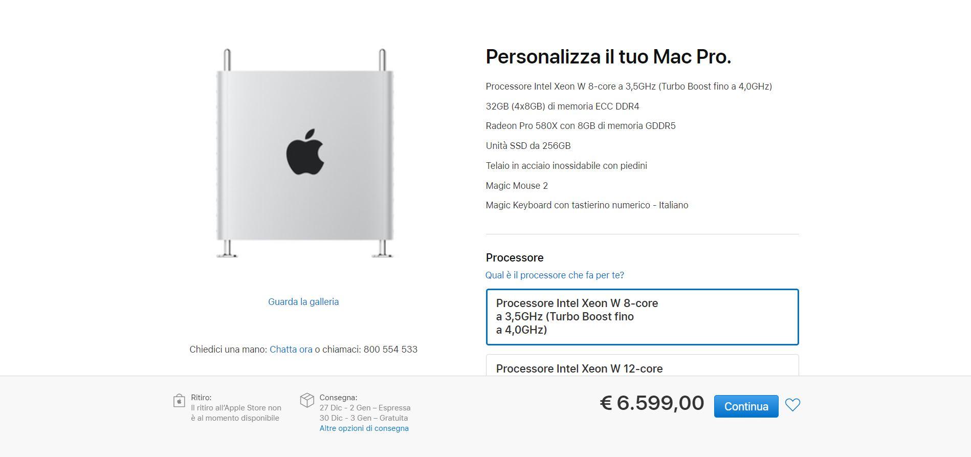 Mac Pro 2019: configurazioni e prezzi disponibili in Italia 1