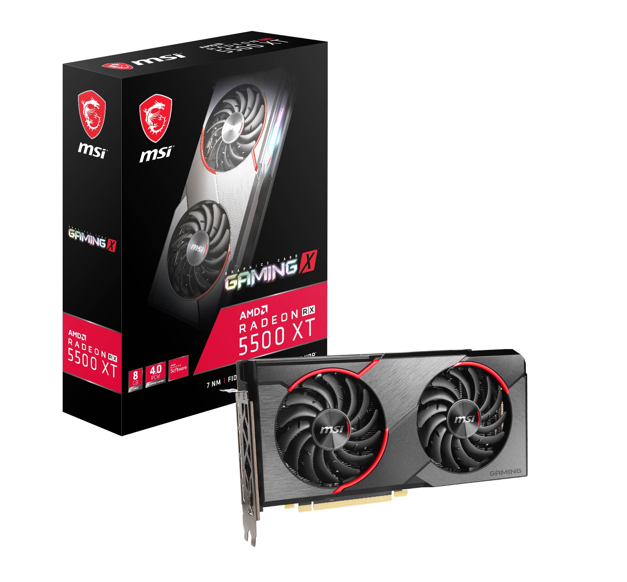 Radeon RX 5500 XT ufficiale: la GPU per il gaming FullHD 3
