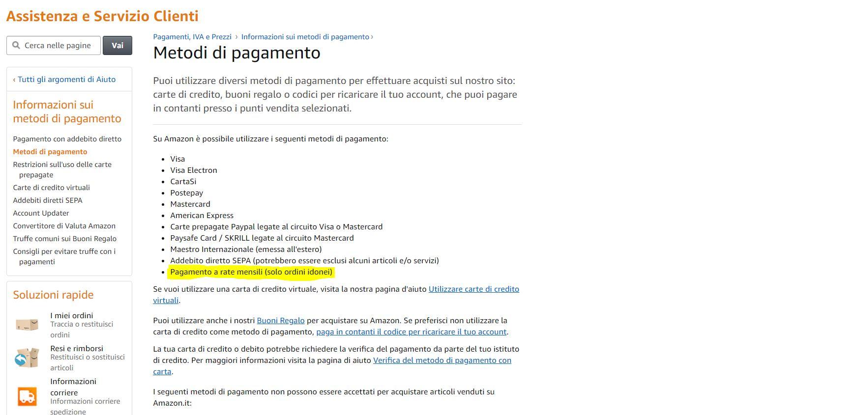 Amazon introduce il pagamento a rate: ecco come funziona 1