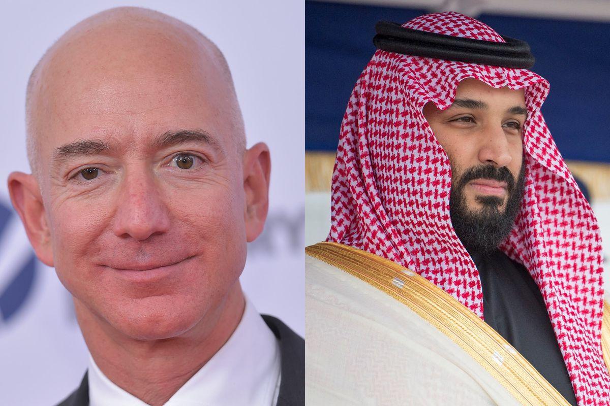 Jeff Bezos hackerato
