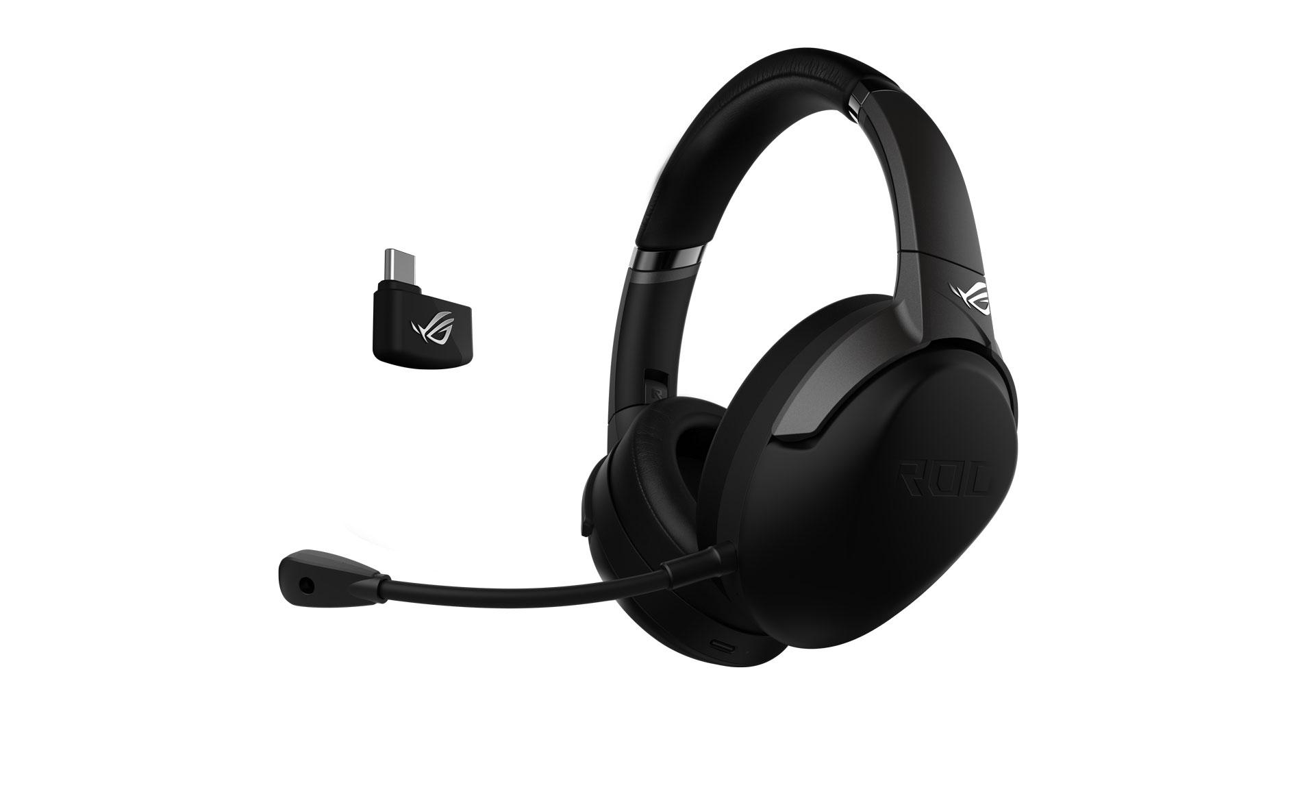 Disponibili in Italia le Asus ROG Strix Go 2.4,  cuffie gaming wireless con connessione USB-C 1