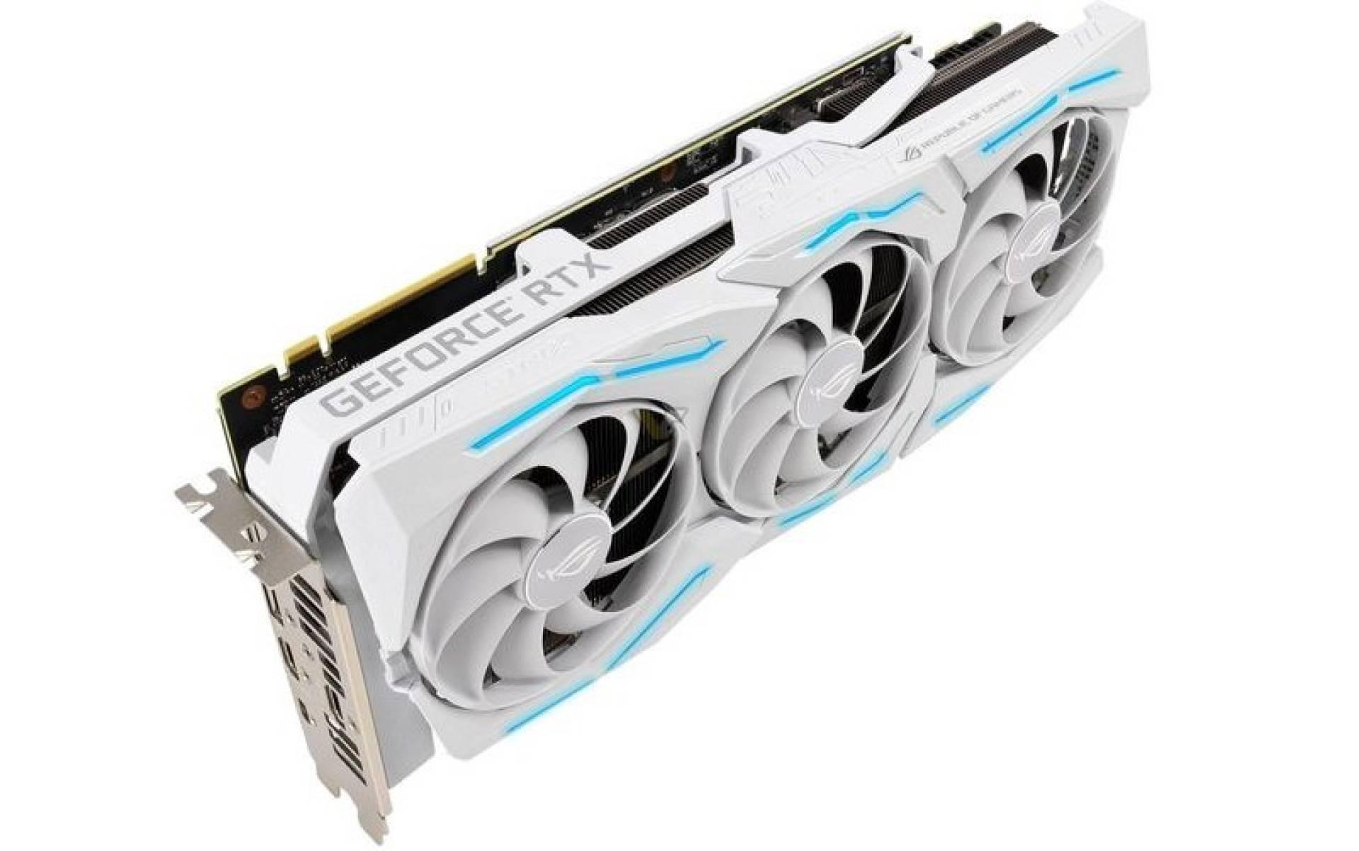 Asus ROG Strix RTX 2080 SUPER White Edition: design, caratteristiche e prezzo 1