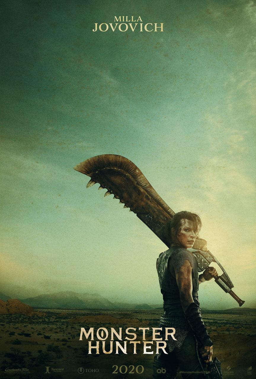 Monster Hunter: Milla Jovovich si mostra nel primo poster ufficiale 1