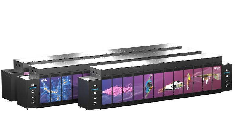 Supercomputer Hawk