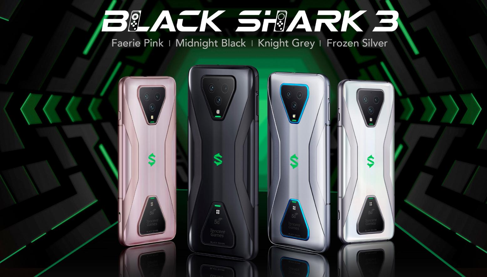 Black Shark 3 e 3 Pro ufficiali: design, caratteristiche e prezzo 1