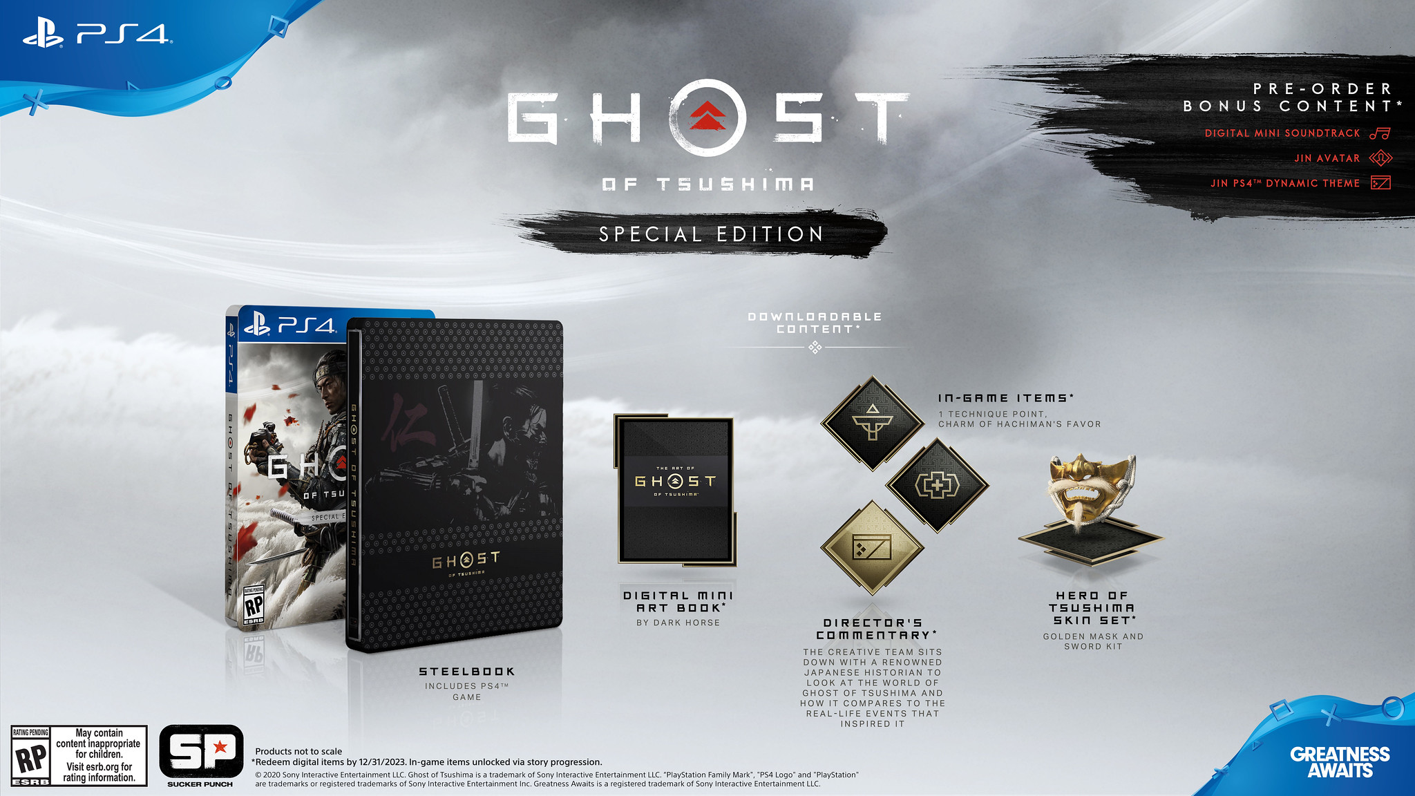 Ghost of Tsushima: i dettagli della Collector's Edition 2