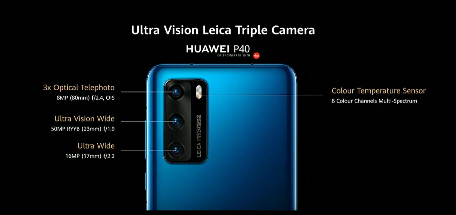 Huawei P40, P40 Pro e P40 Pro+ ufficiali: caratteristiche, design e prezzi 4