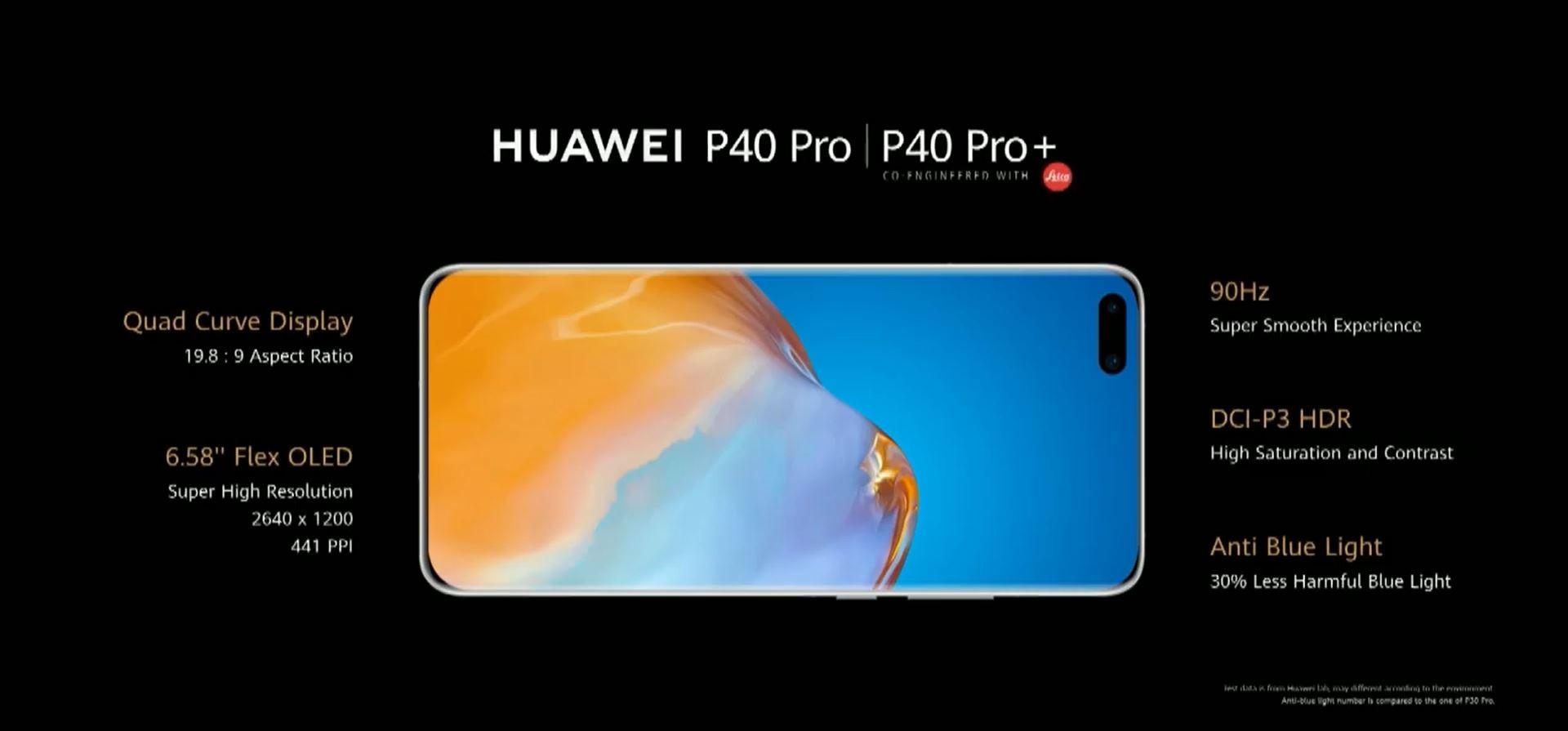 Huawei P40, P40 Pro e P40 Pro+ ufficiali: caratteristiche, design e prezzi 1