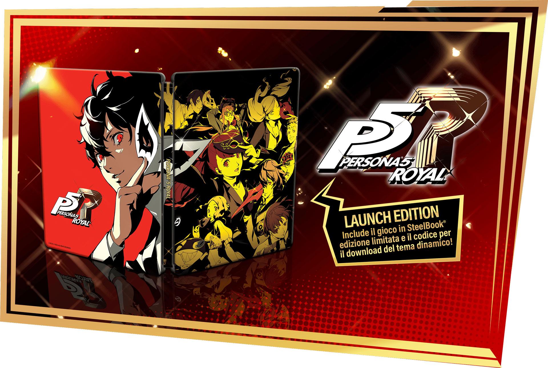 Persona 5 Royal: tutte le edizioni disponibili all'uscita 1