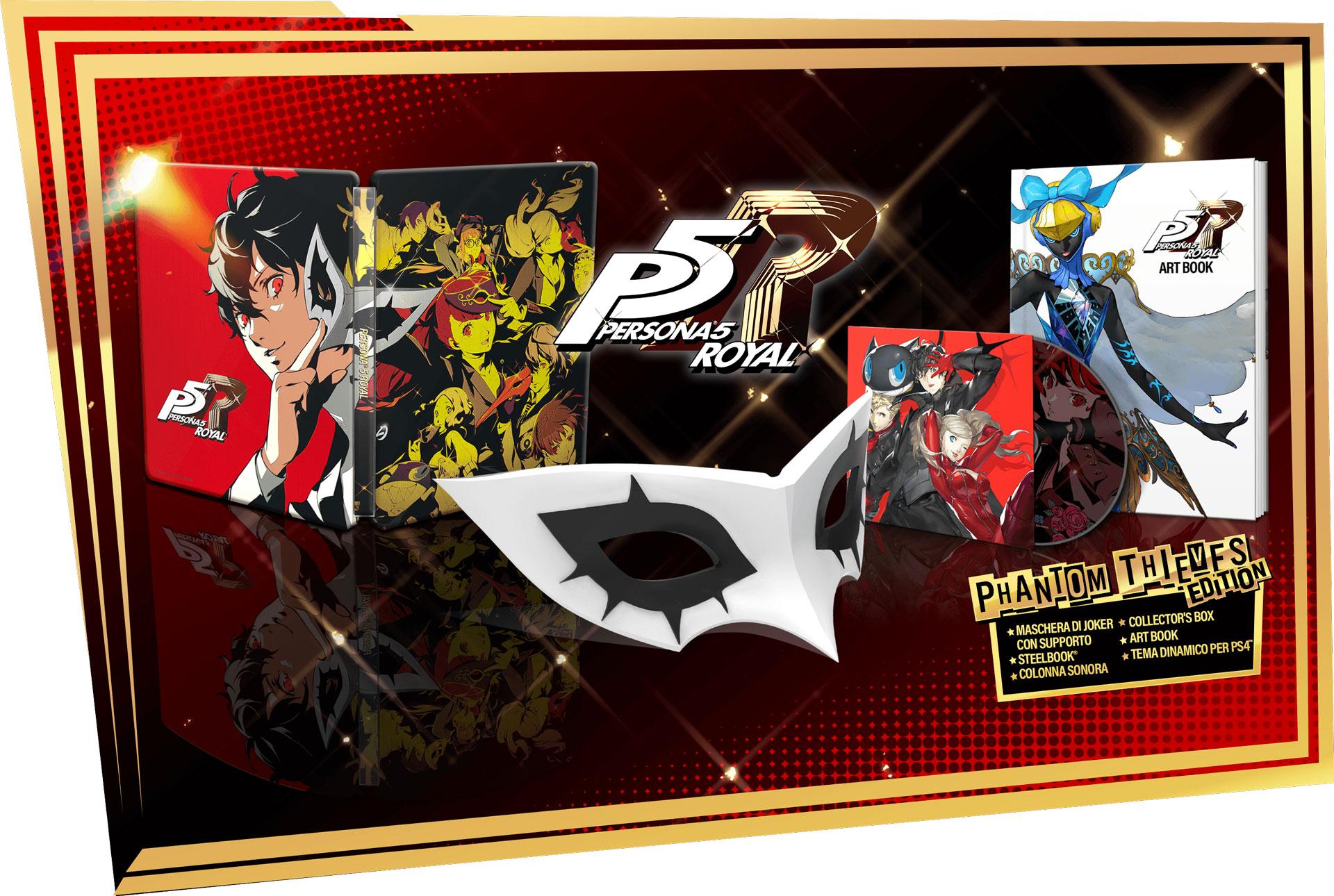 Persona 5 Royal: tutte le edizioni disponibili all'uscita 2