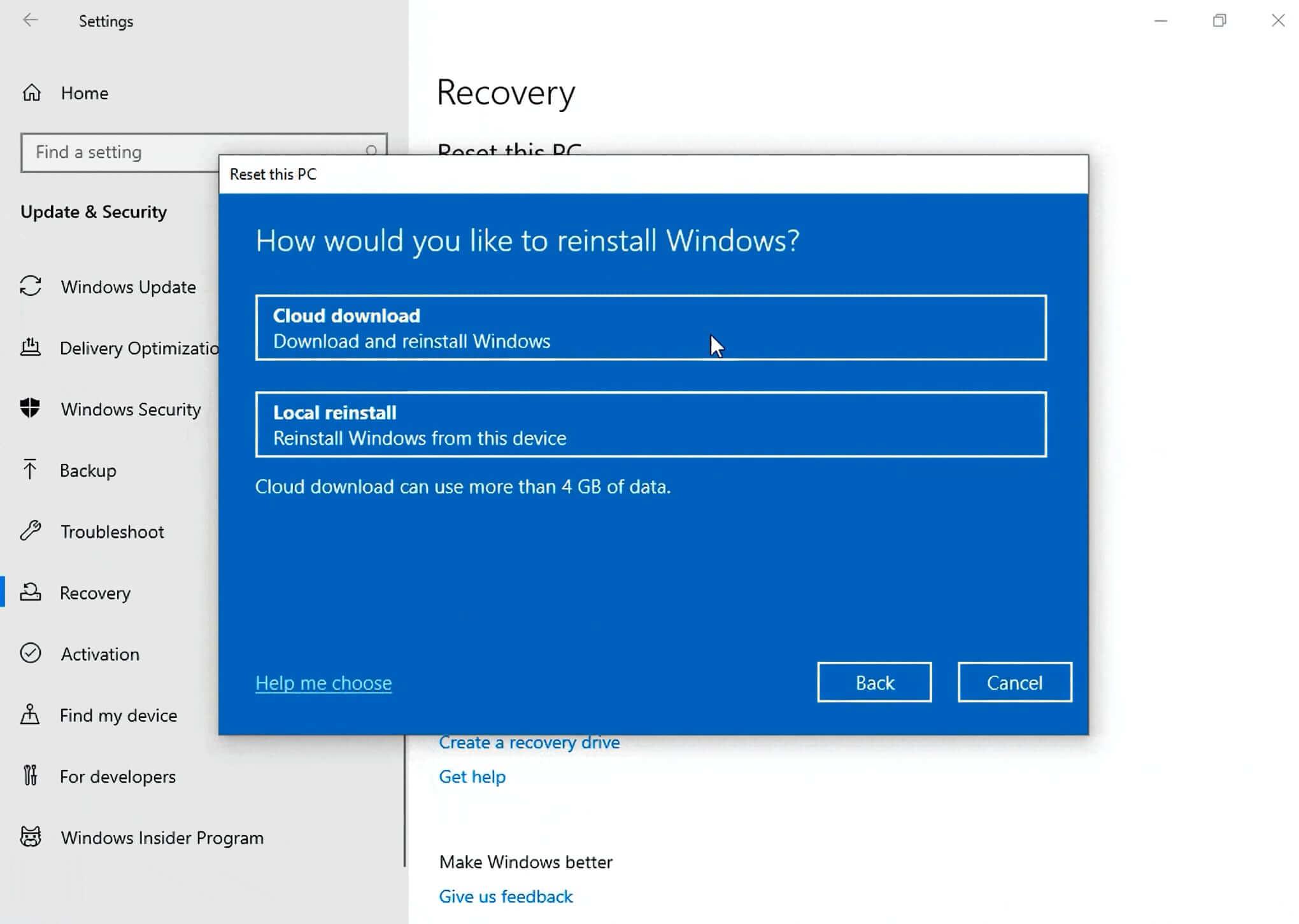 Windows 10 20H1: tutte le novità dell'aggiornamento di Aprile 1