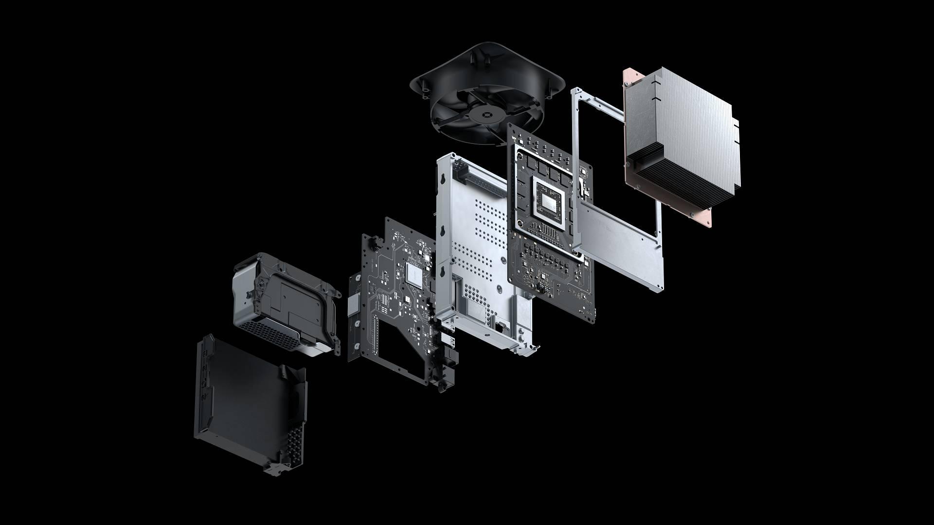 Xbox Series X componenti interne