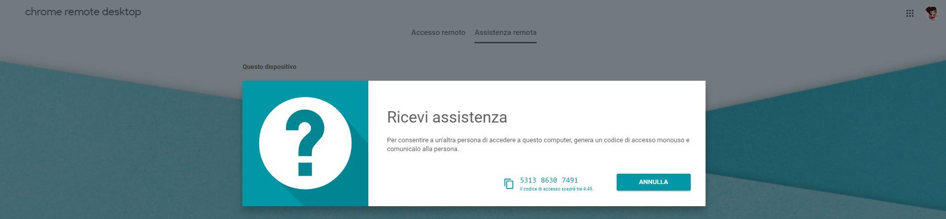 Come accedere a un desktop remoto con Chrome Remote Desktop 6