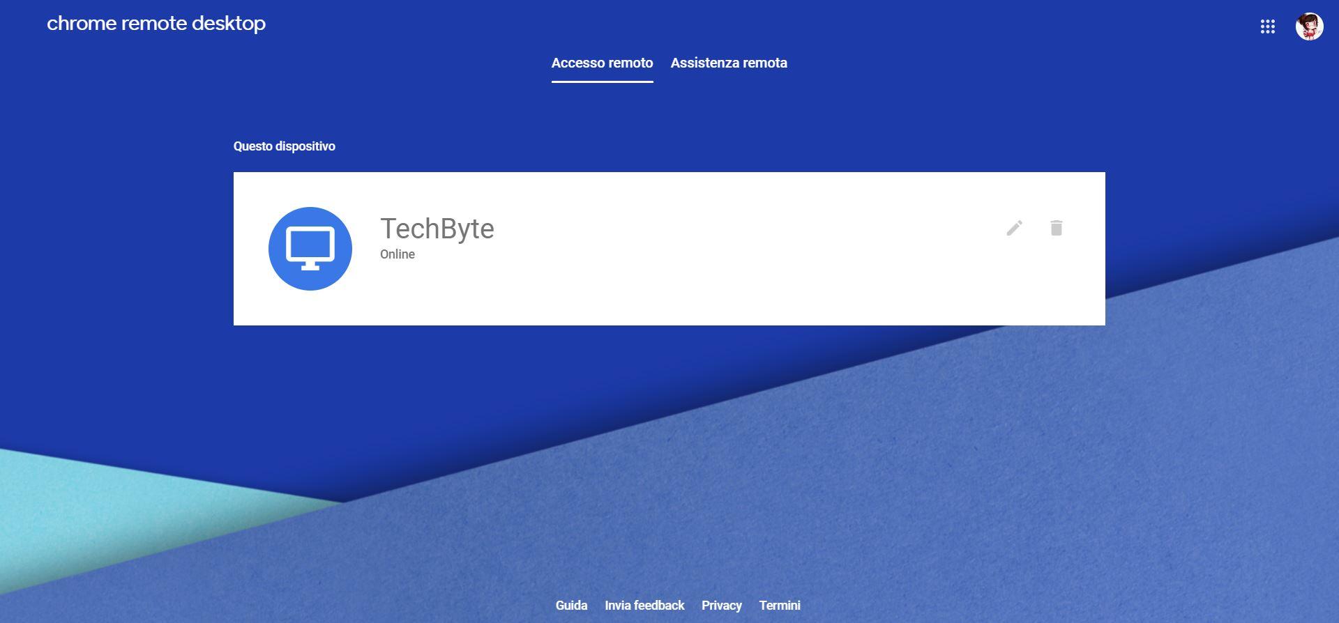 Come accedere a un desktop remoto con Chrome Remote Desktop 4