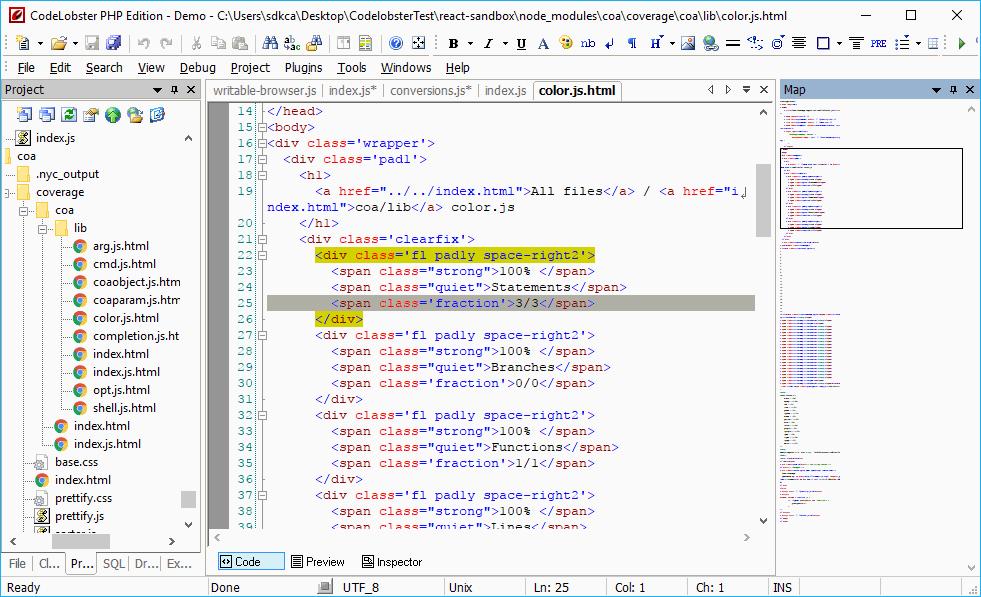 Codelobster IDE, l'editor per i linguaggi di programmazione web 1